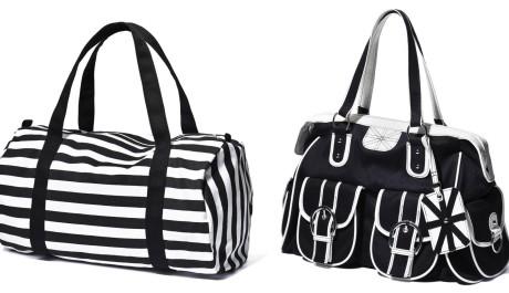 FOTO: Černo-bílé kabelky
