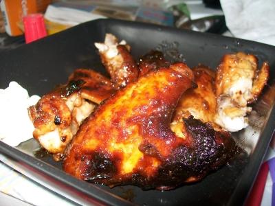 Foto: kuřecí křidélka