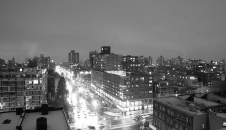 FOTO: Město v šedi