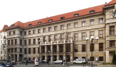 Ústřední knihovna na Mariánském náměstí v Praze 1