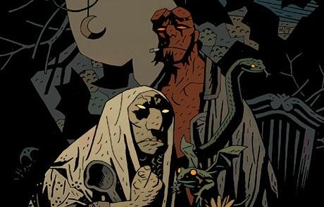 Mike Mignola: Hellboy: Pražský upír (ilustrační)