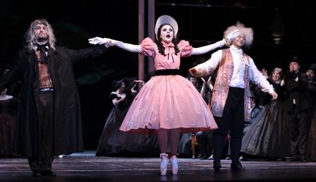 Scéna z opery Hoffmannovy povídky