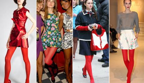 FOTO: Šedý outfit s barevným oživením upoutá hned pozornost