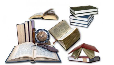 KOLÁŽ: Knihy