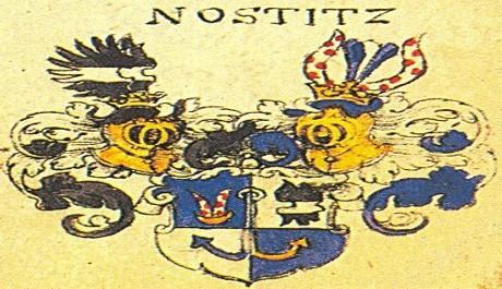 Erb rodu Nostitzů OBR: erb