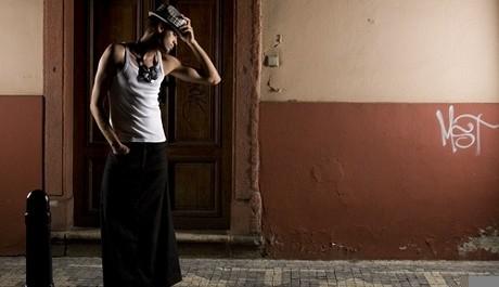 FOTO: Pánská sukně od Jany Thálové