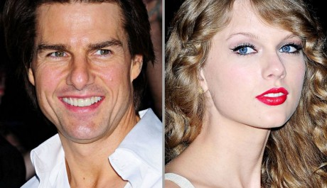 FOTO: Tom Cruise a Taylor Swift