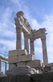 FOTO: Zbytky Trajánova chrámu