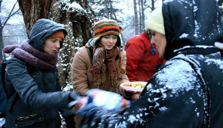 FOTO: Rozdávání jídla