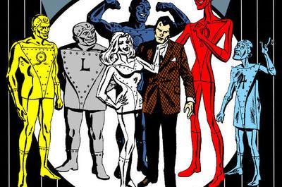 Oblíbený komiks Bruce Willise Metal Men
