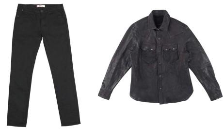 FOTO: Pánské džíny a košile