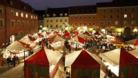 FOTO: Vánoční trhy, Regensburg