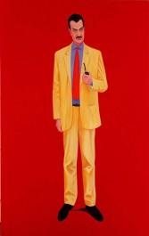 FOTO: Obraz Karla Schwarzenberga od malíře Tomáše Císařovského z cyklu Bez koní