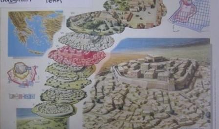 FOTO: Archeologické vrstvy v Tróji