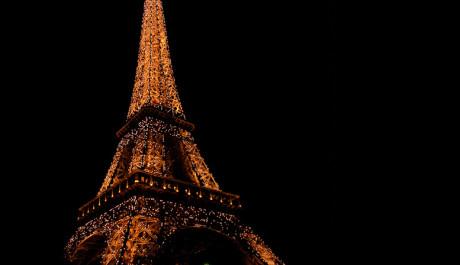 FOTO: Eiffelova věž na Silvestra