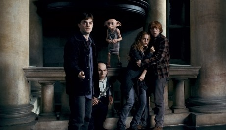 FOTO: Harry, Ron, Hermiona a Dobby ve filmu HP7-část 1