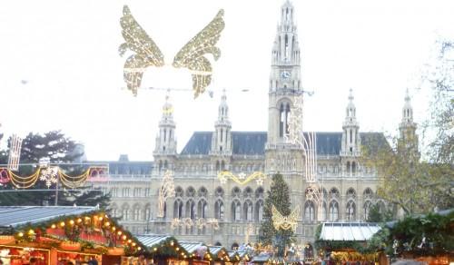 FOTO: Vánoční trhy ve Vídni