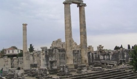 FOTO: Věštírna v Didymě, Apollónův chrám