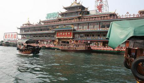 FOTO: Plovoucí restaurace Jumbo Kingdom