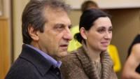 FOTO: Alain Boublil a Gabriela Haukvicová-Petráková na zkoušce muzikálu Marguerite v NDM v Ostravě 2010