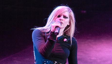 FOTO: Kanadská zpěvačka Avril Lavigne