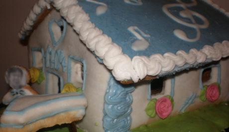 FOTO: Hudební chaloupka jako alternativa k narozeninovému dortu
