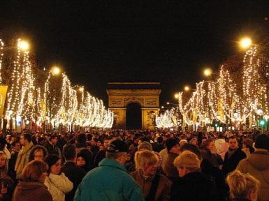 FOTO: Vánoční Champs Élysées
