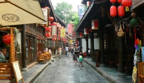 FOTO: Město Chengdu, Čína