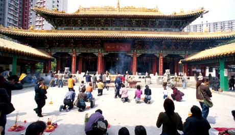 FOTO: Chrám Sik Sik Yuen Wong Tai Sin