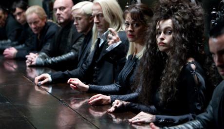 FOTO: Helena se svými hereckými kolegy v první část filmu Harry Potter a Relikvie smrti