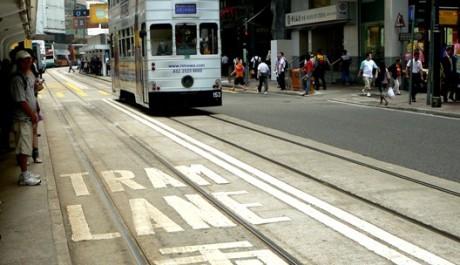 FOTO: Hongkongská tramvaj ding ding
