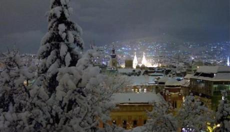FOTO: Zima, Silvestr na horách