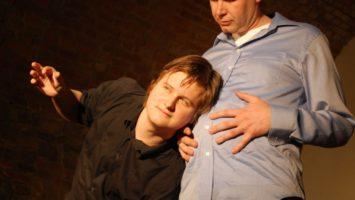 FOTO: Lukáš Venclík a Martin Vasquez při improvizaci