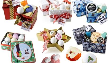 FOTO: Vánoční balíčky od LUSH