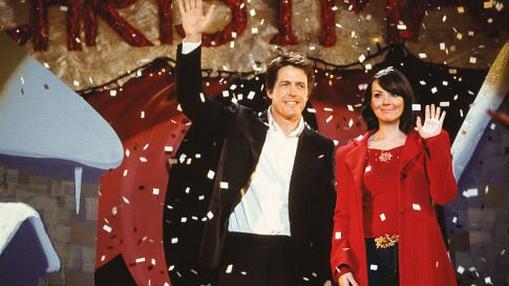 FOTO: Hugh Grant a Martine McCutcheon ve filmu Láska Nebeská