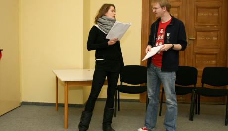 Foto: Herci při zkoušce
