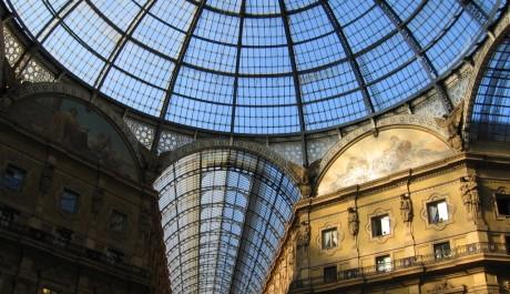 FOTO: Nákupní galerie Viktora Emanuela II. v Miláně.