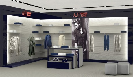 FOTO: Obchod Armani Jeans