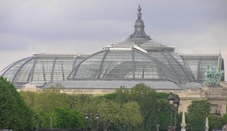 FOTO: Výstavní palác Grand Palais v Paříži