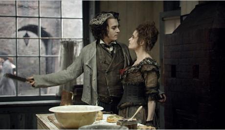 FOTO: Helena s Johnnym Deppem v adaptaci muzikálu Sweeney Todd