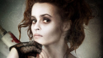 FOTO: Helena Bonham Carter jako Nellie Lovettová ve filmu Sweeney Todd