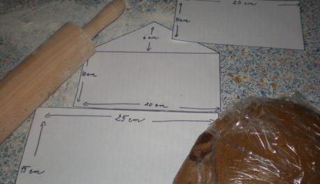FOTO: Přípravy na pečení perníkové chaloupky