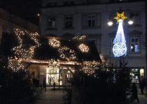 FOTO: Vanoční trh v Krakově
