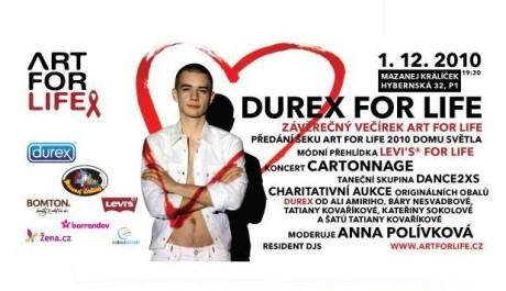 FOTO: Durex For Life – Závěrečný večírek ART FOR LIFE