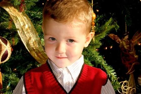 FOTO: Dítě o Vánocích, Zdroj: sxc.hu