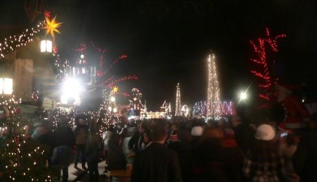 FOTO: Vánoční trhy v Hyde Parku