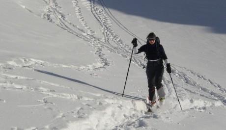 FOTO: Skialpinismus v Krkonoších