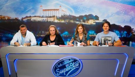 FOTO: Porota druhé řady Česko Slovenské SuperStar