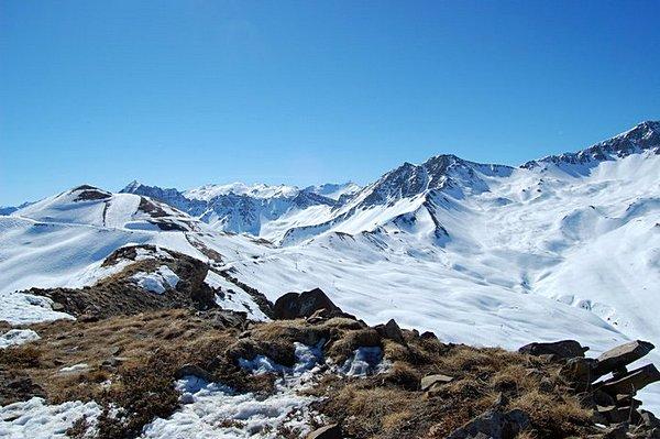 FOTO: Alpské ledovce