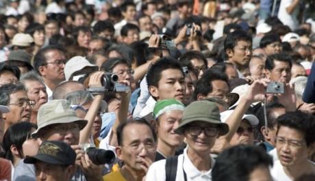 FOTO: Dav asijských turistů